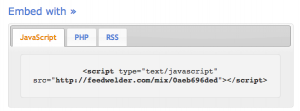 Copy and paste the code into your site.